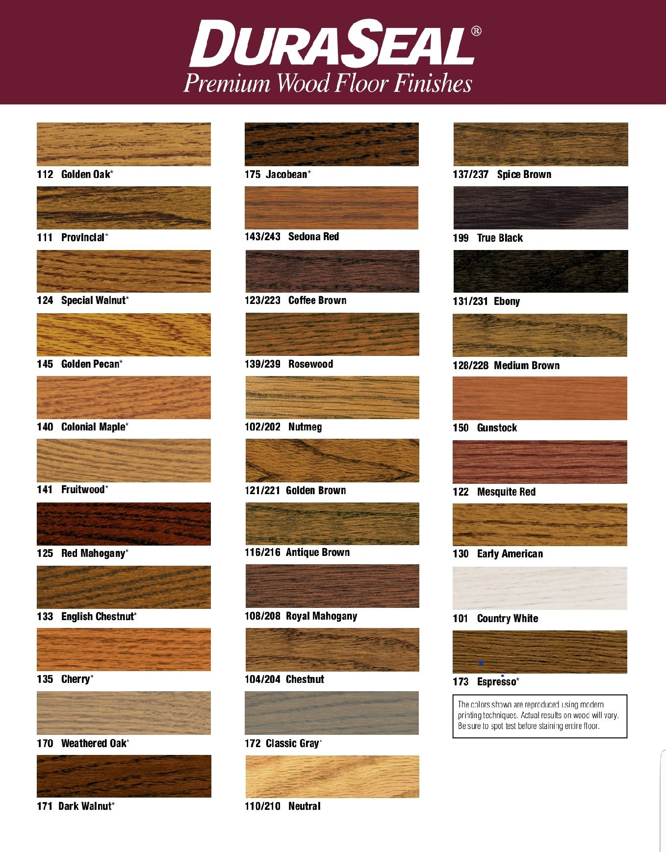 Available Hardwood Floor Finishes And Colors